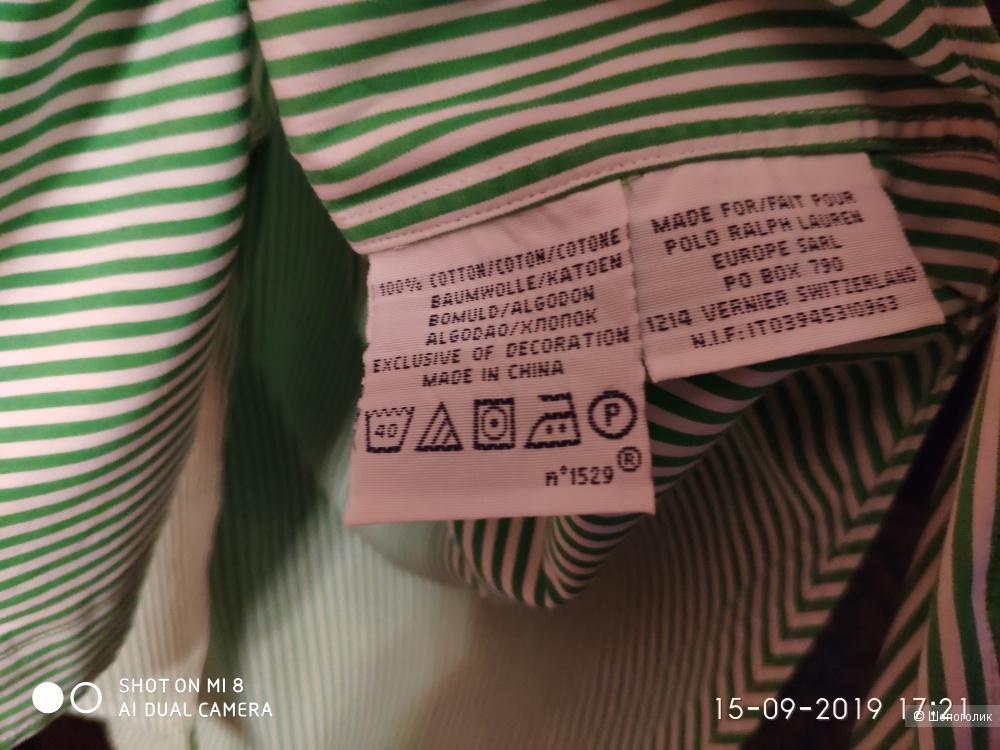 Мужская рубашка бренда RALPH LAUREN размера М