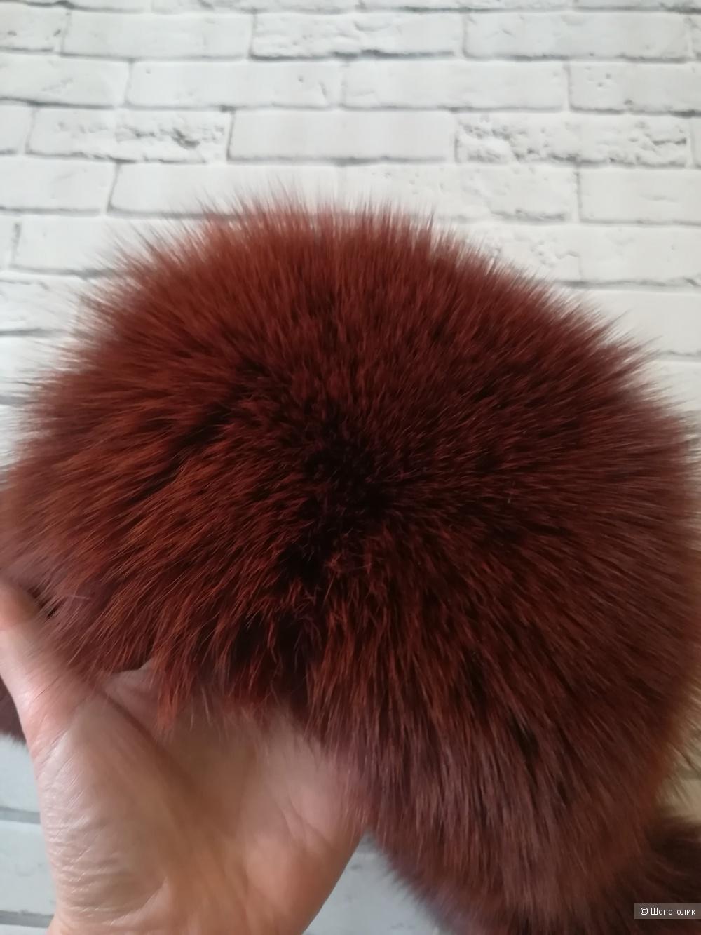 Шапка зимняя lusa, размер 56/58