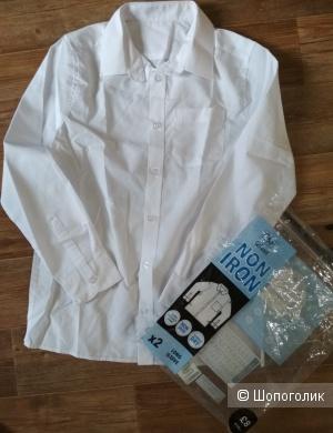 Рубашка F&F размер 10-11 лет