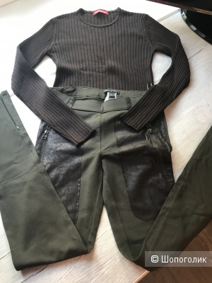 Комплект штаны-леггинсы Mango и свитер Alain Manoukian,42-44 рус
