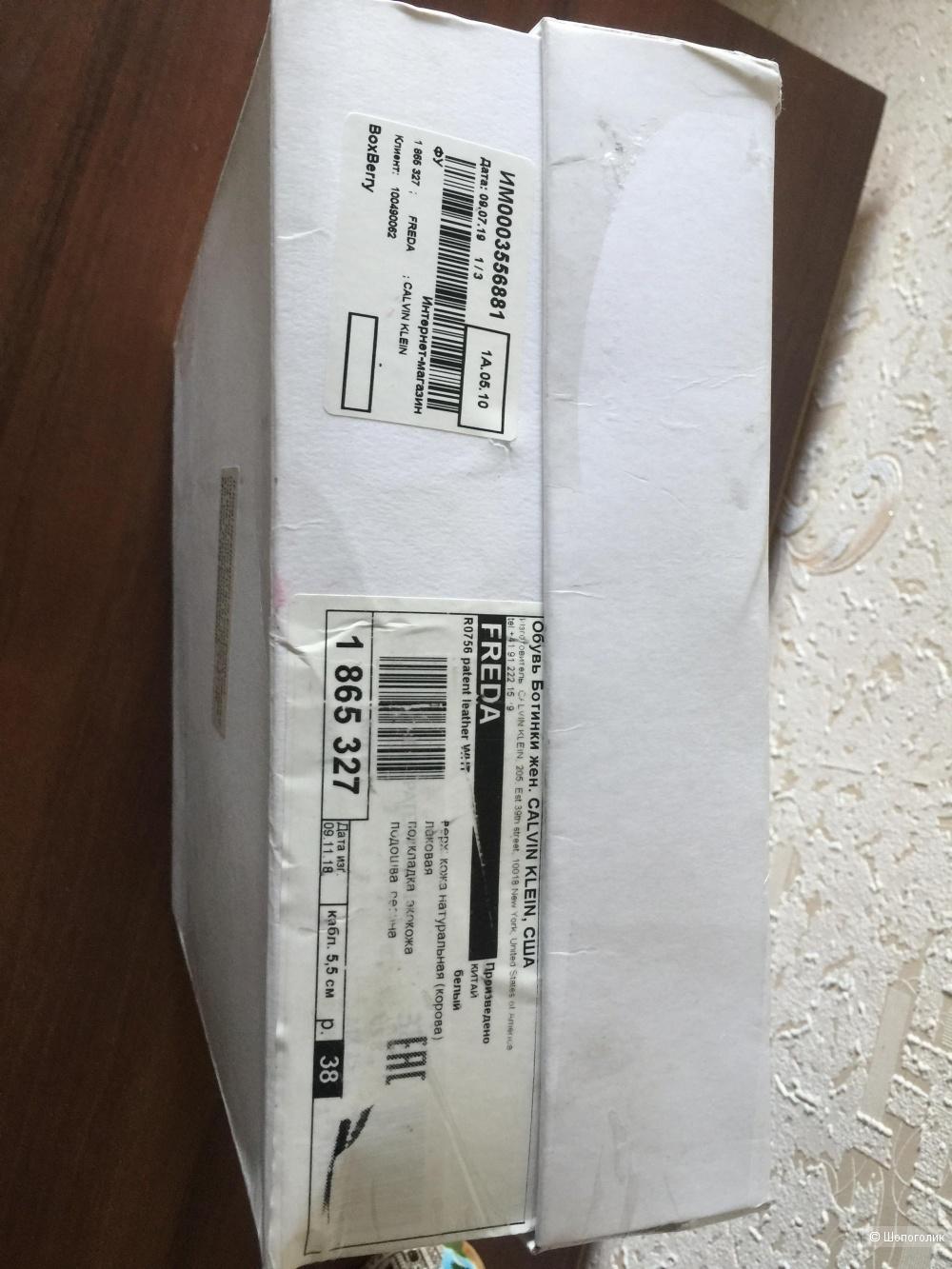 Новые казаки Calvin Klein, 39  размер