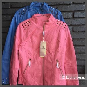 Кожаная куртка Spiks, M