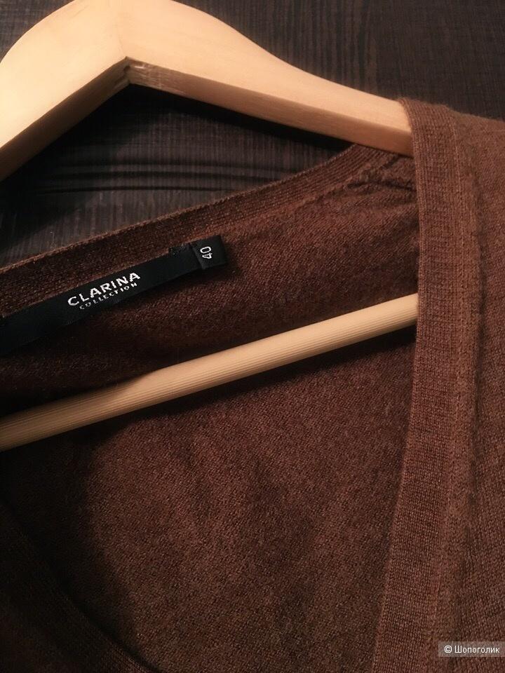 Кардиган Clarinа размер 40 цвет коричневый