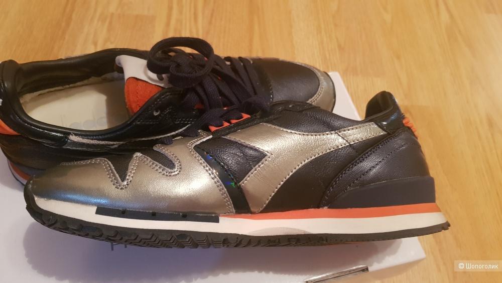Кожаные кроссовки Diadora размер 6.5 us