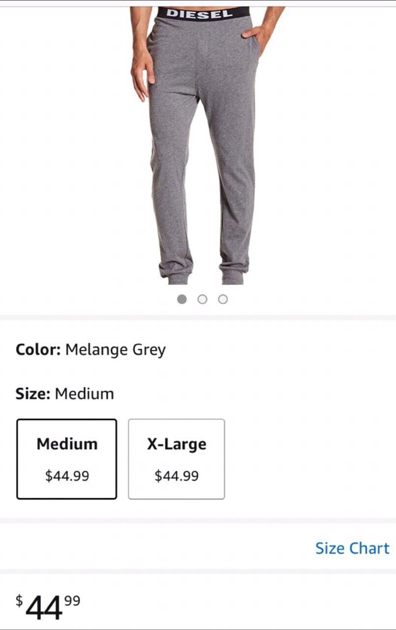 Diesel домашние брюки М