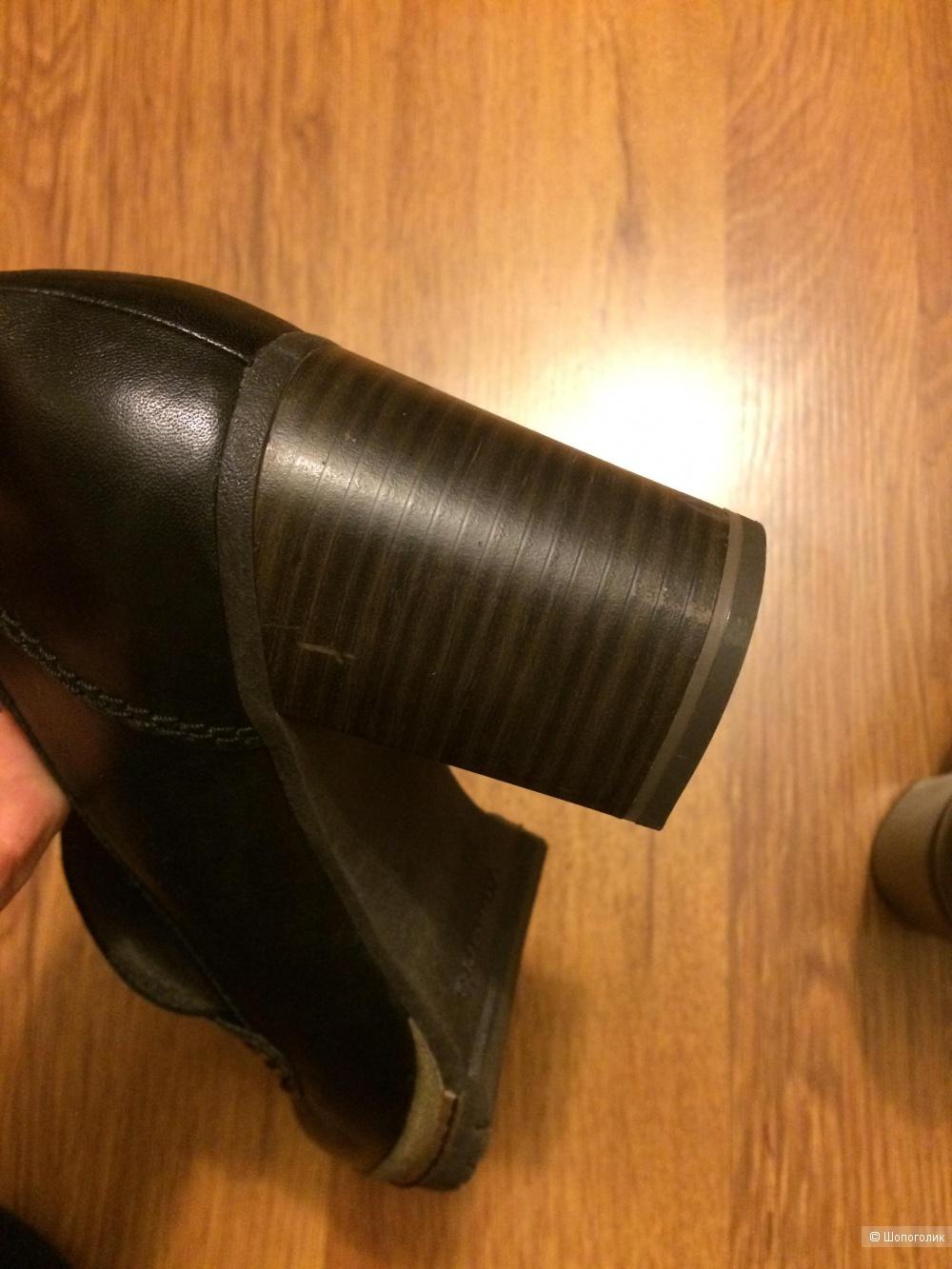 Туфли Tamaris кожа 39 размер  25.5 см.