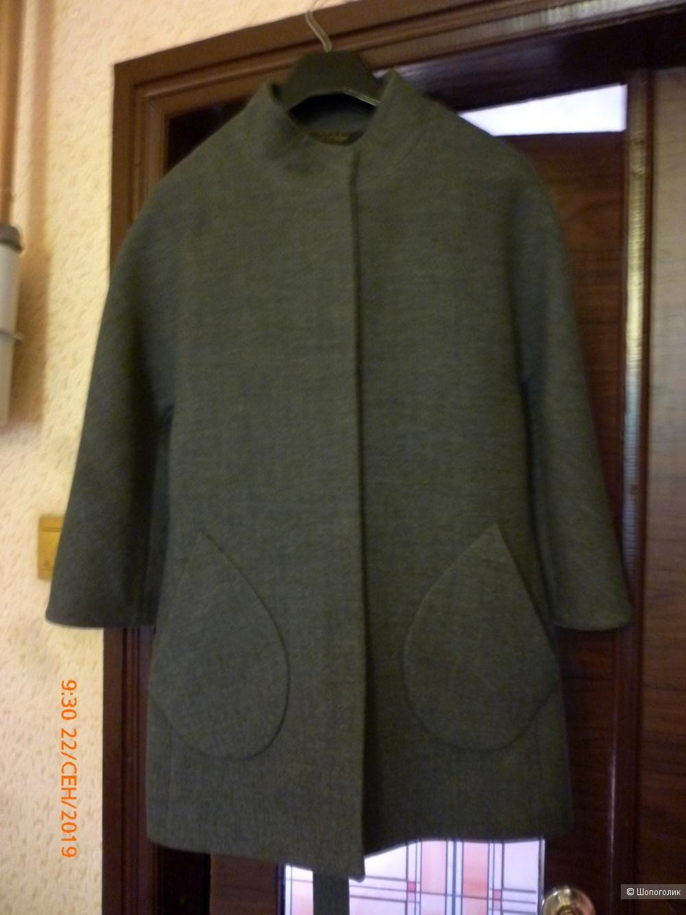 Полупальто от бренда Jadem Collection размер 38 (44/46RU)