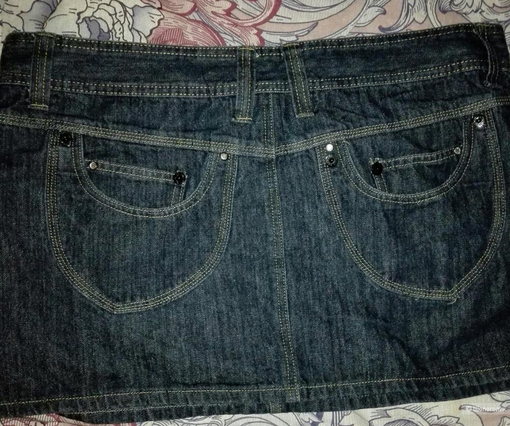 Юбка джинсовая X-Mail, размер XXL