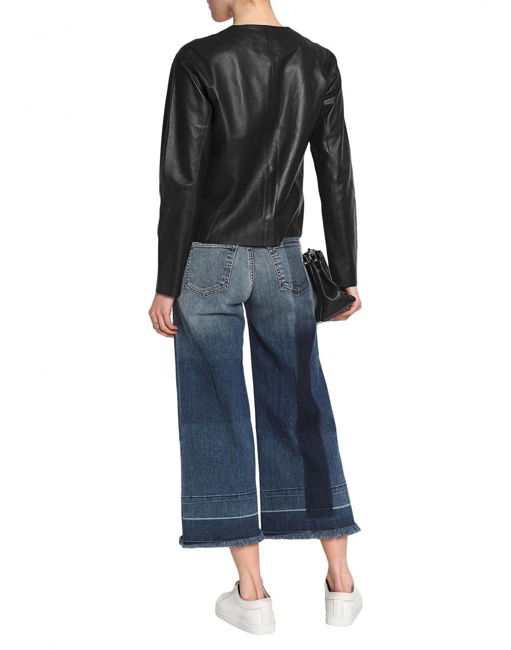Кожаная куртка jbrand 48 размера
