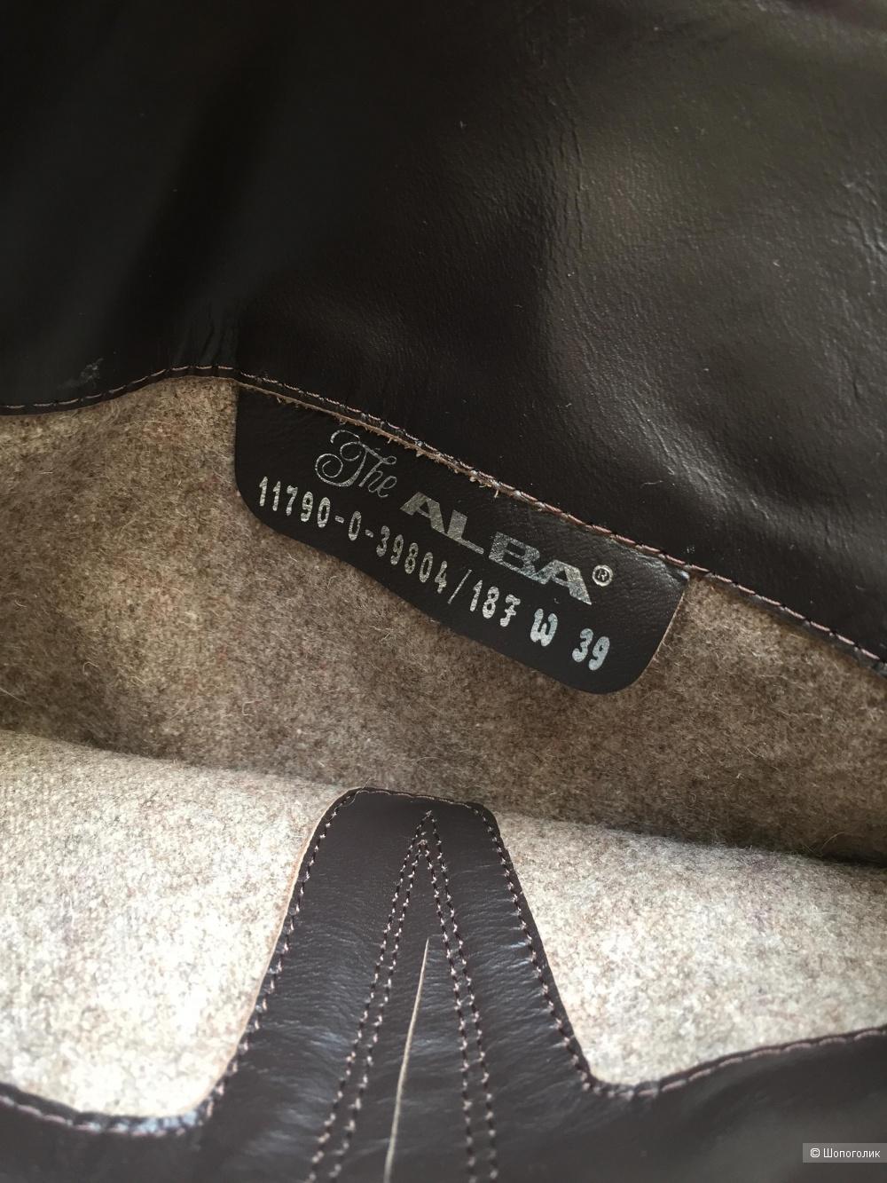 Сапоги ALBA 38-38,5  размер