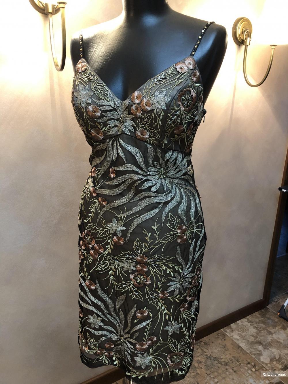 Sue Wong шикарное дизайнерское платье 44 р.
