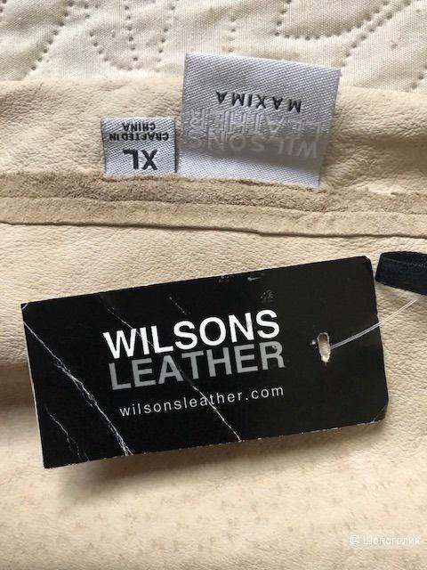 Замшевй топ WILSONS LEATHER,XL(48-50)
