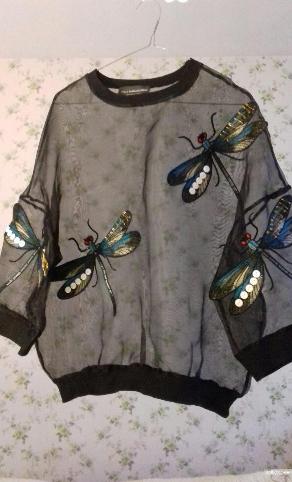 Блузка ( пуловер ) Stella Marina Collezione. р.46. Италия.