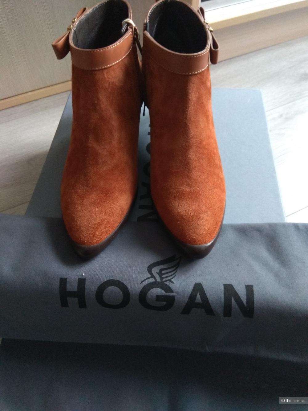 Ботильоны Hogan ,35 р