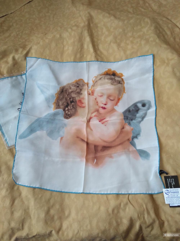 Шелковый платок, 53х53