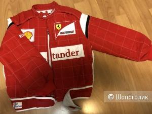Крутая куртка Ferrari. На мальчика, 7-8 лет.