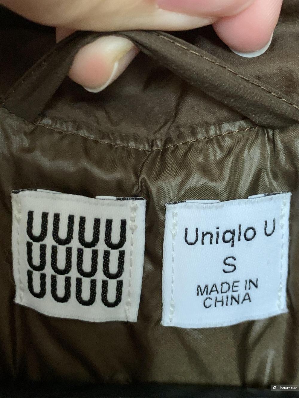 Пуховик Uniqlo U, размер S