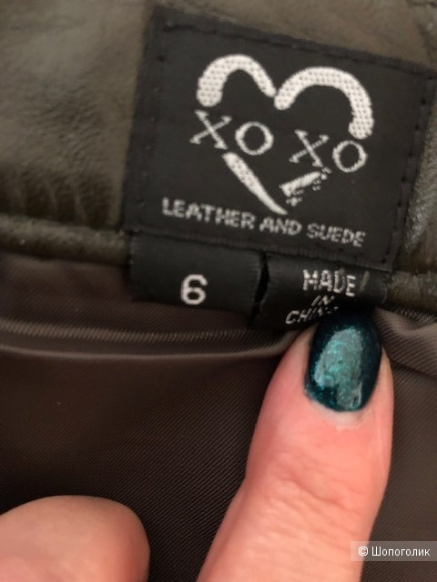 Xo Xo leather and suede,6US(42-44)
