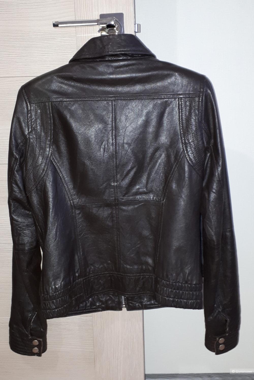 Куртка кожаная Zara trf, размер М