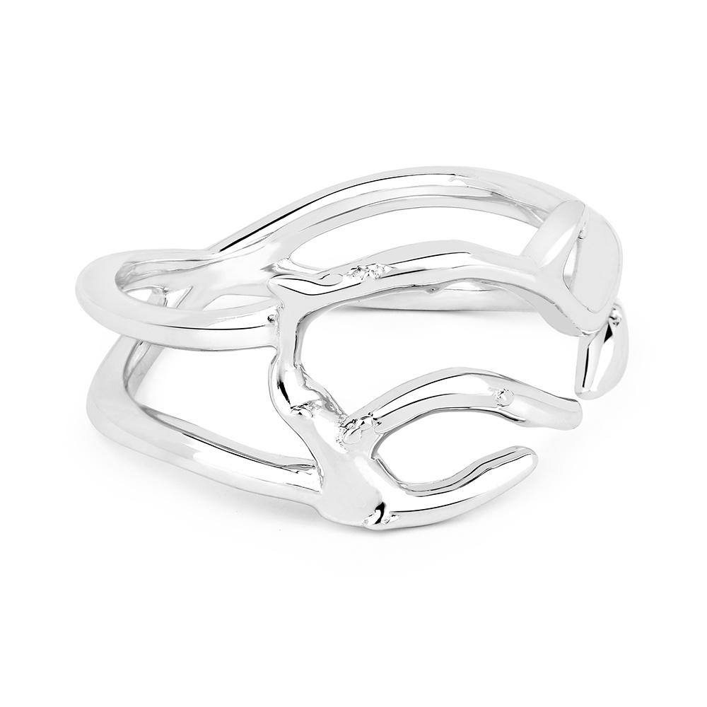 Серебряное кольцо в форме коралла от Lav'z