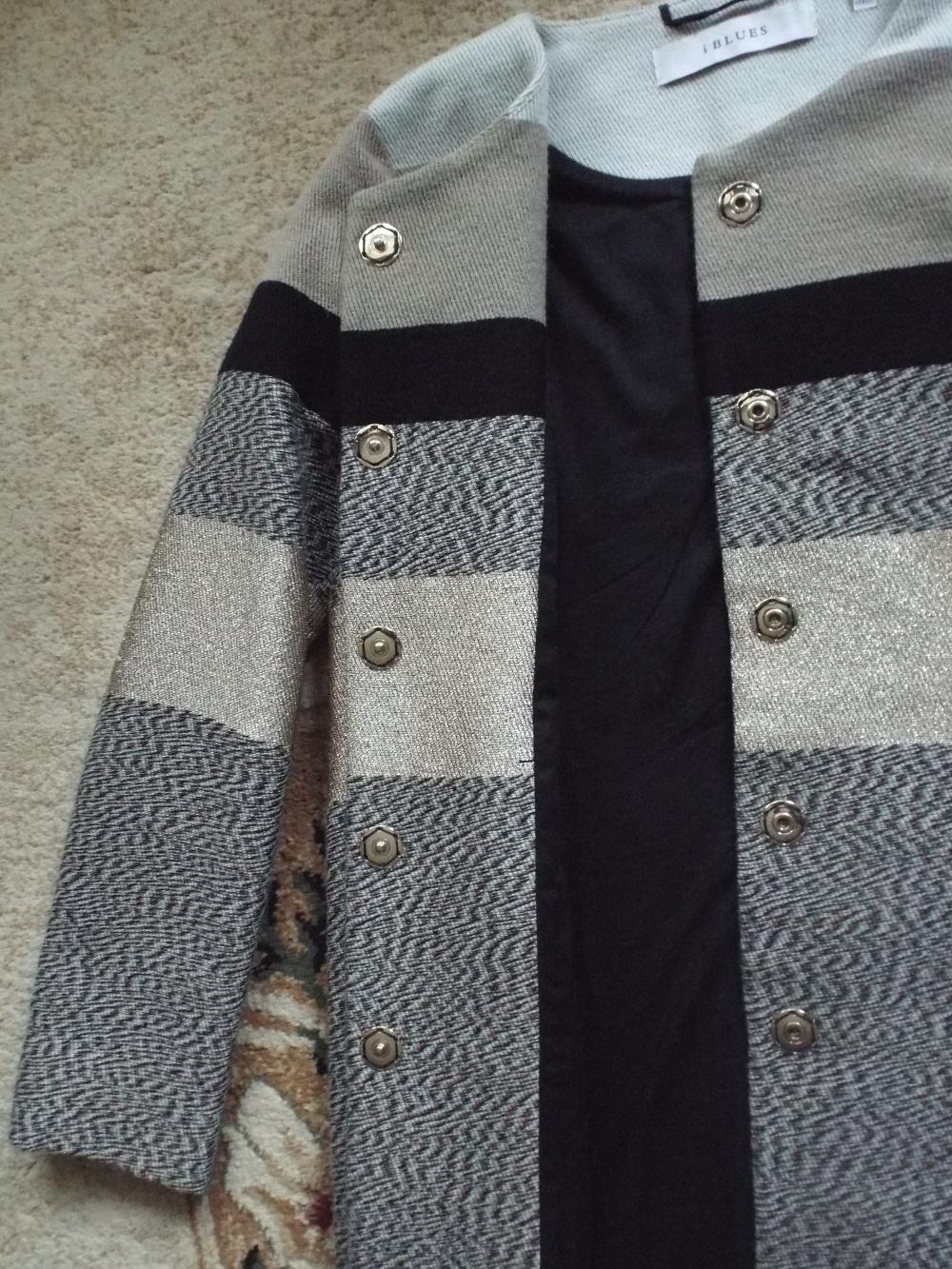 Пальто, i BLUES, размер 44, 44-46 (росс.).