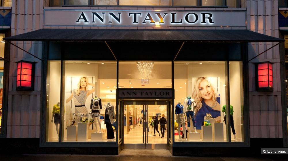 Кашемировый пуловер ANN TAYLOR S
