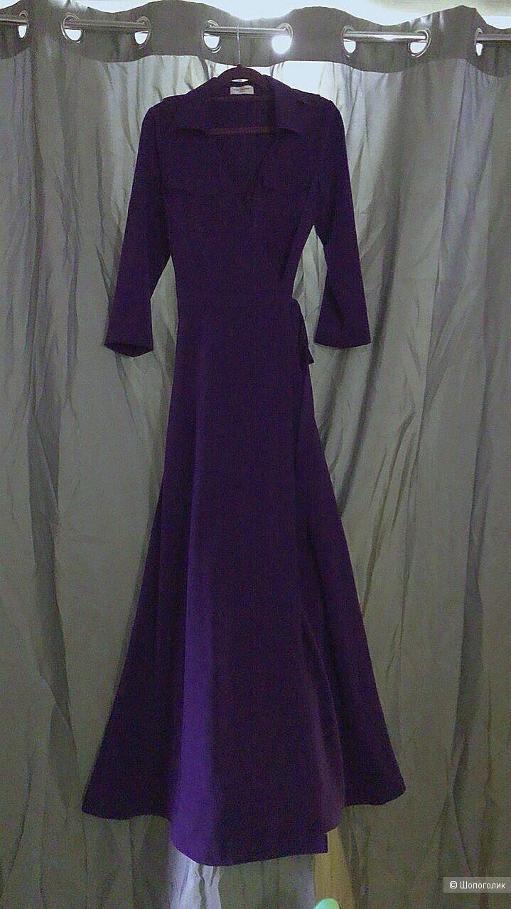 Платье длинное Saint Laurent реплика люкс, S