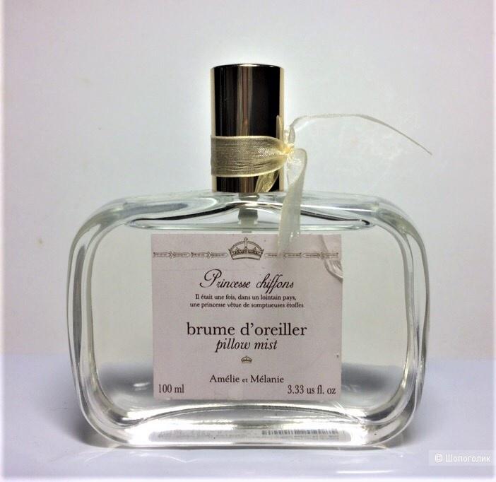 Спрей -дымка для белья Princesse chiffons от  Amelie et Melanie , 100 ml