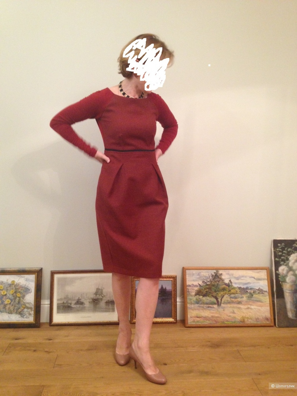 Платье, Max Mara, размер S