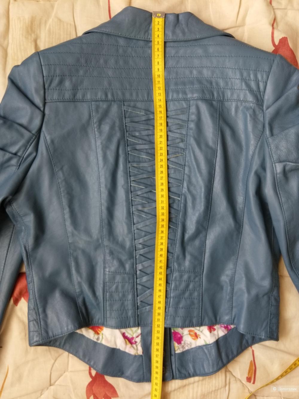 Кожаная куртка-пиджак Guarapo 46-48 р. (L,M)