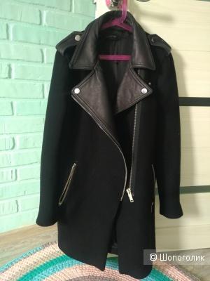 Пальто -косуха  Zara woman, размер xs,s