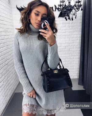 Платье свитер Dins Tricot, one size