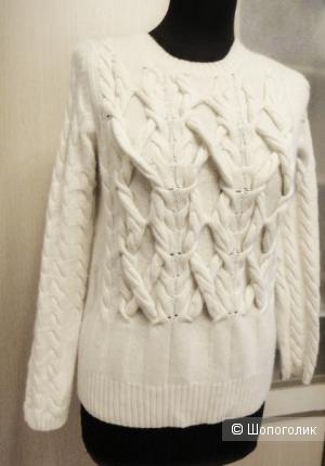 Шерстяной свитер Massimo Dutti размер L