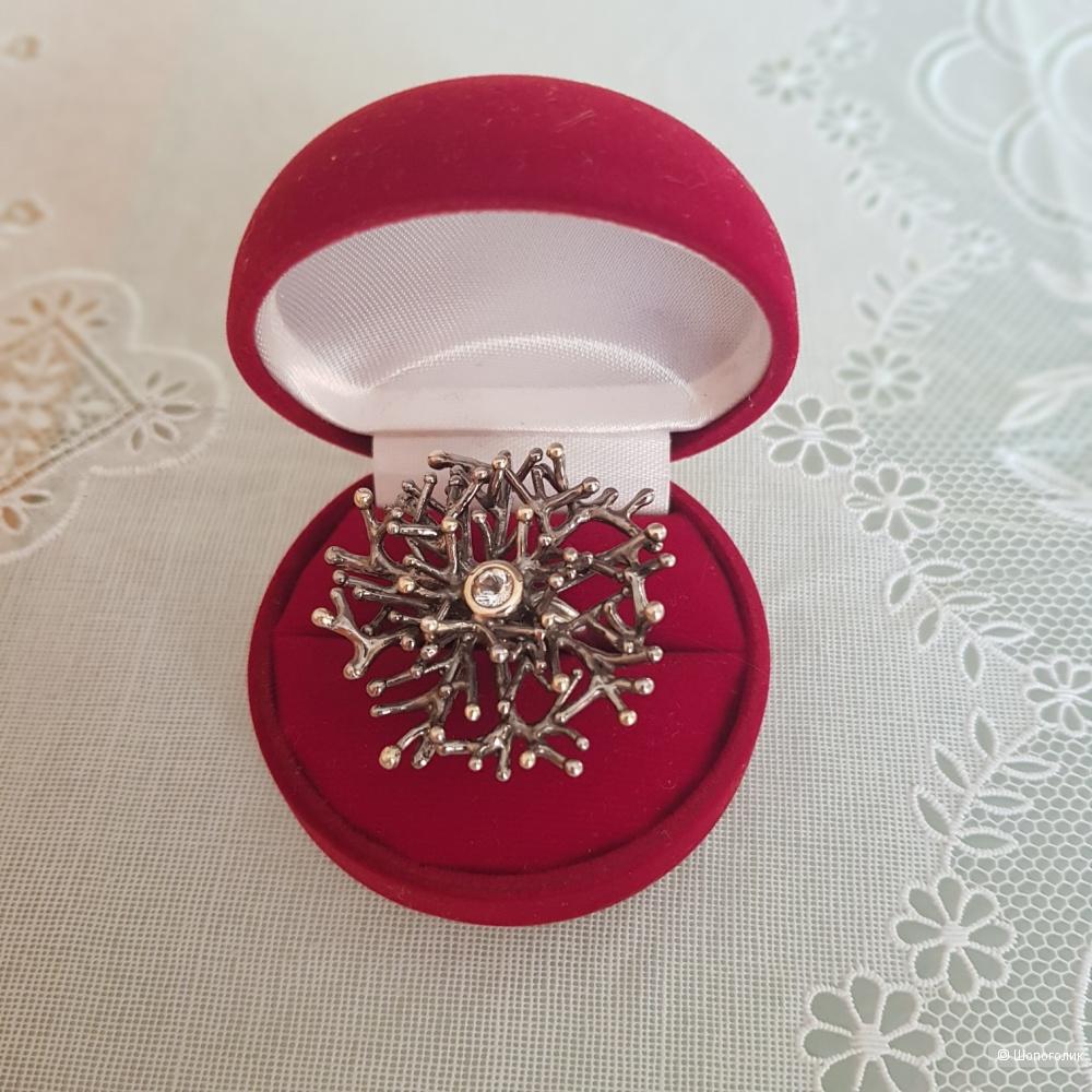 Кольцо Ainsi. Серебро 925. Размер свободный.