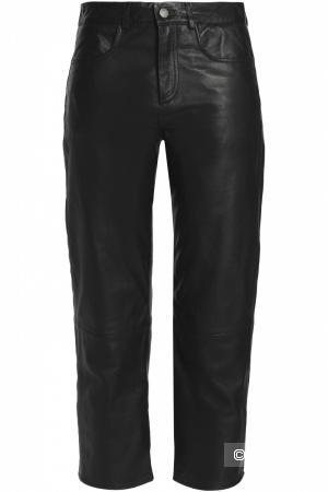 Кожаные брюки Muubaa 14 размера