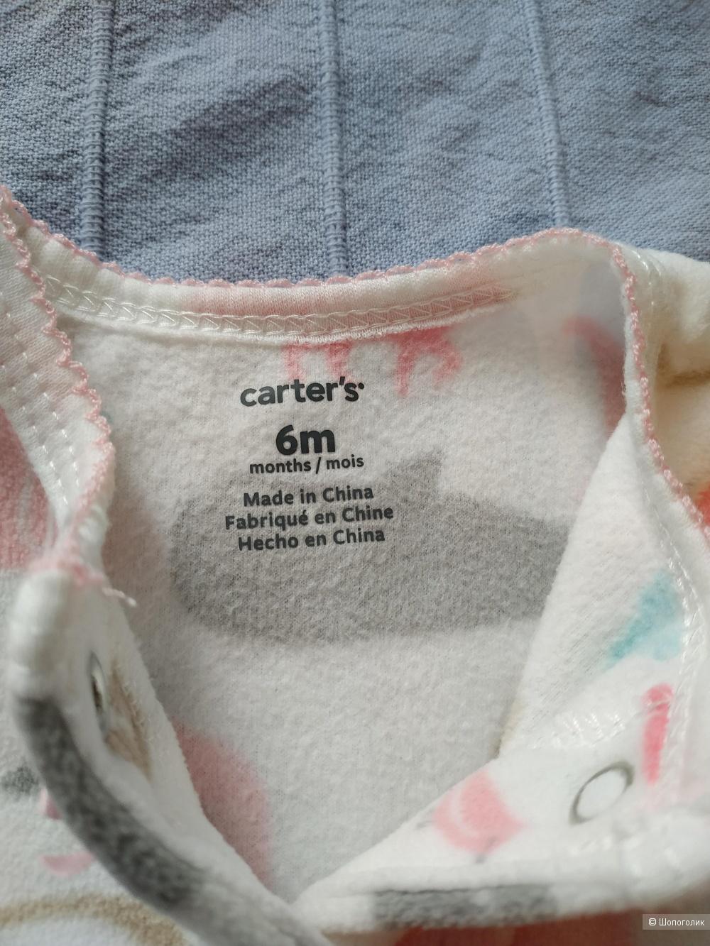 Флисовый слип Carter's размер 6М