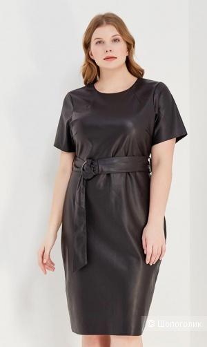 Платье из искусственной кожи Lost ink UK 18