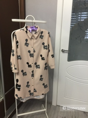 Платье рубашка Mixalevskaya, р. 36 (42-44)