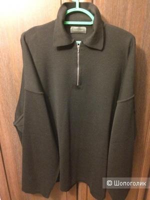 Джемпер шерстяной черный Connemara XL-XXL