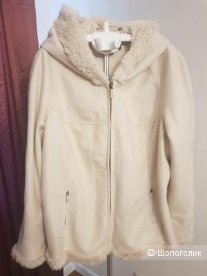 Светло-бежевая куртка JONES NEW YORK 60-62 размер