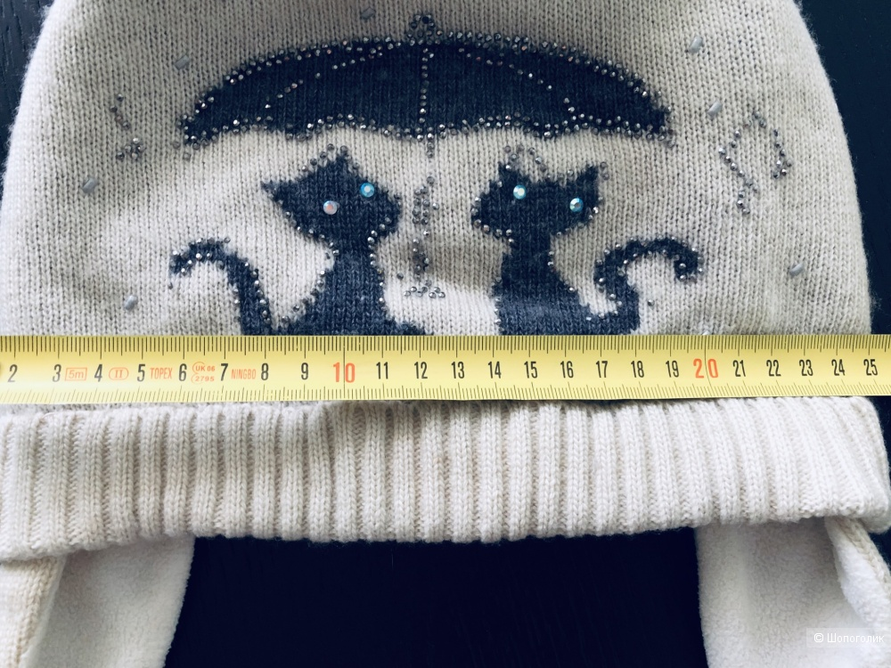 Зимняя шапка Ventata , 5-9 лет