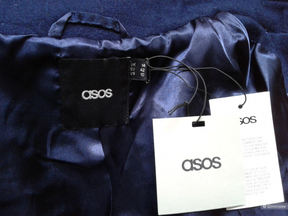 Пальто ASOS UK14 eu42 US10 рос 48-50