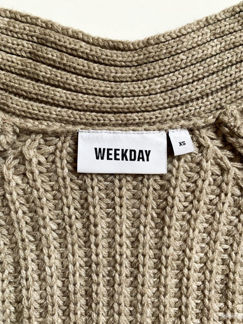 Кардиган WEEKDAY XS