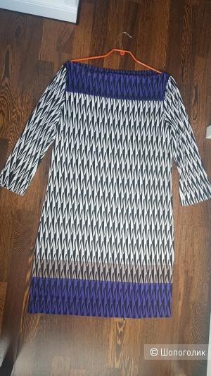 Платье-туника Diane von Furstenberg, размер 14 US, наш 52