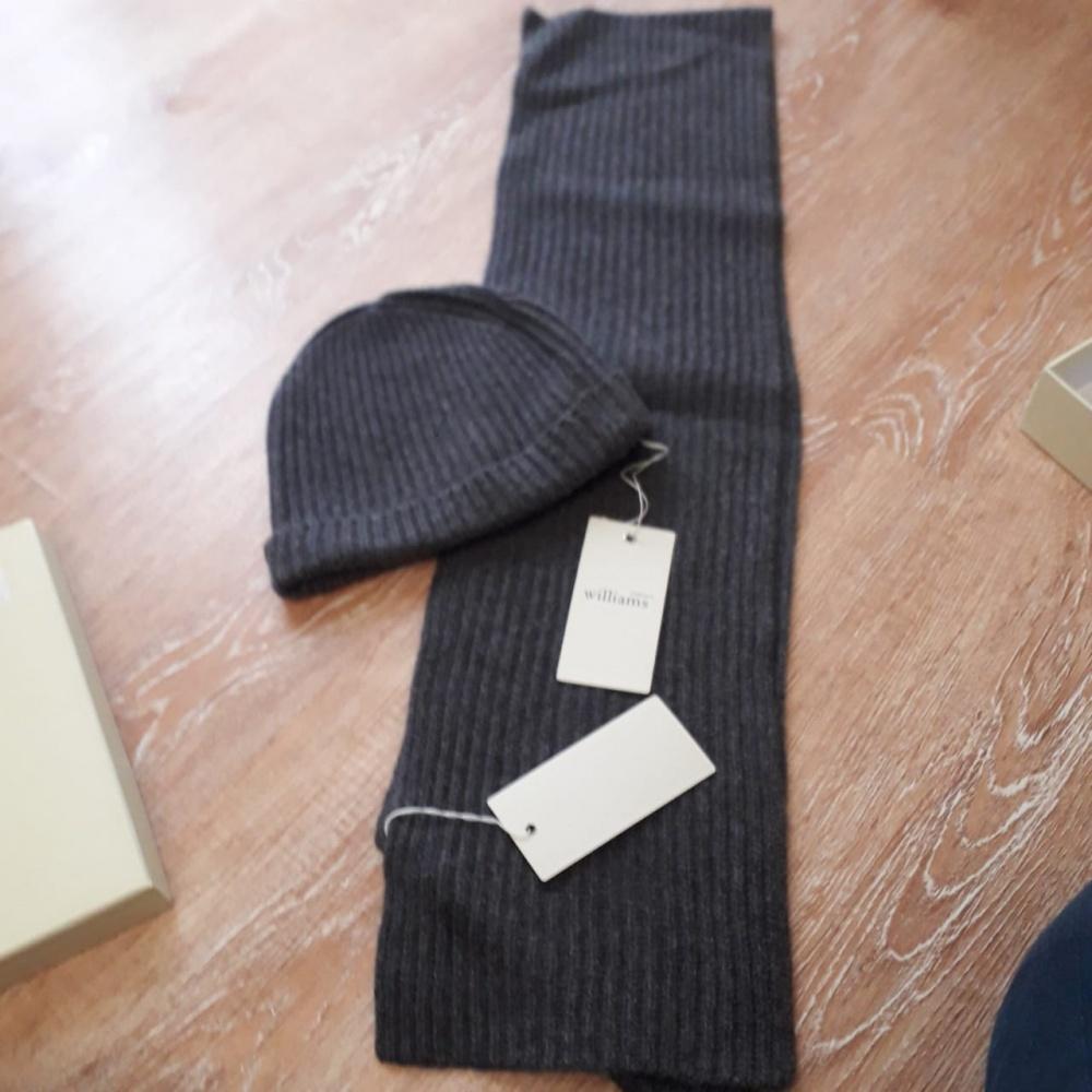 Мужской кашемировый сет Williams Cashmere в подарочной упаковке