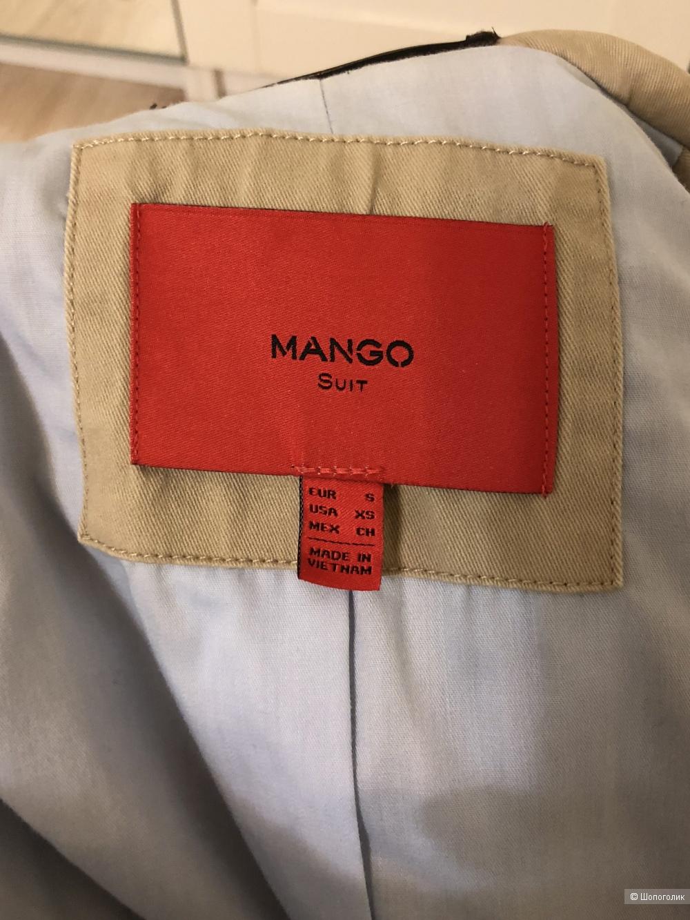 Тренч Mango Suit размер S