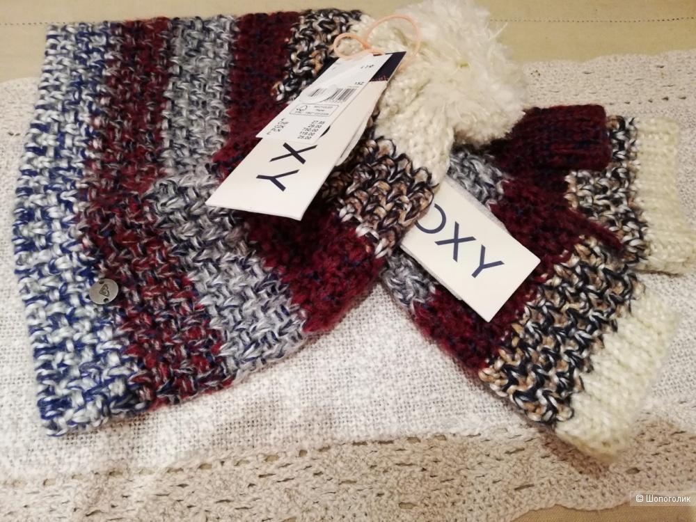 Комплект шапка и митенки Roxy one size