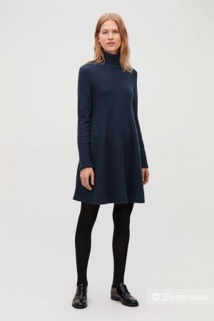Шерстяное платье cos, размер s
