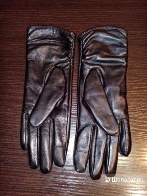 Перчатки из кожи. Harmon. Размер7