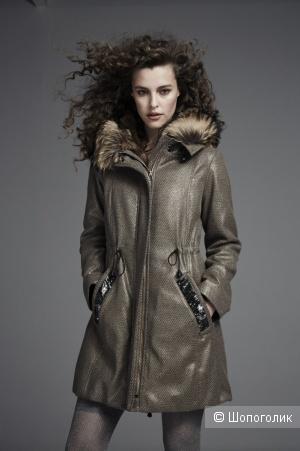 Теплое пальто-парка Violanti (Visconf) , ит.48 на 50+-